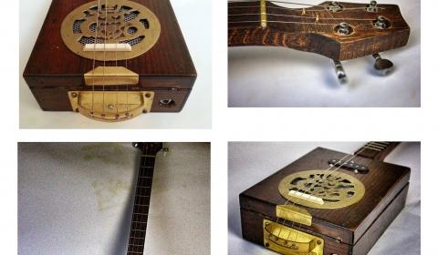 """Cigarbox Gitarre """"old soap Box"""""""